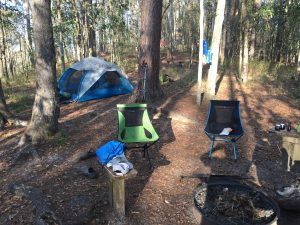 Backpacking in State Parks and Other Municipal Lands