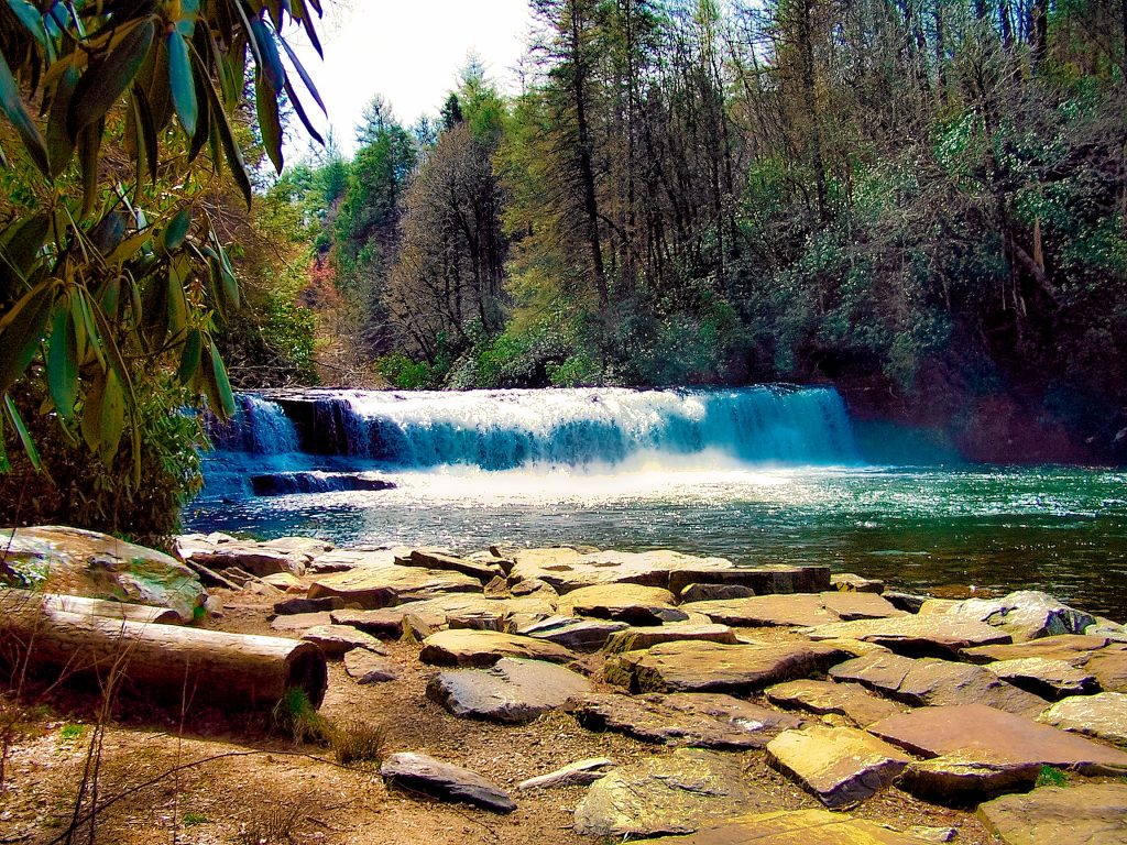 Hiking DuPont State Forest, North Carolina