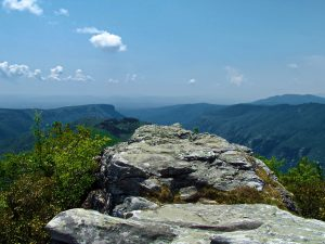 Hiking the Table Rock Trail, NC