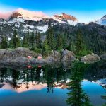 Backpacking to Spectacle Lake & Pete Lake
