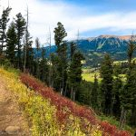 Mountain Biking the Bangtail Divide Trail