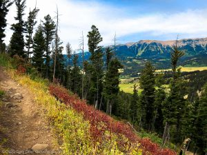 Mountain Biking the Bangtail Divide Trail, Bozeman, Montana