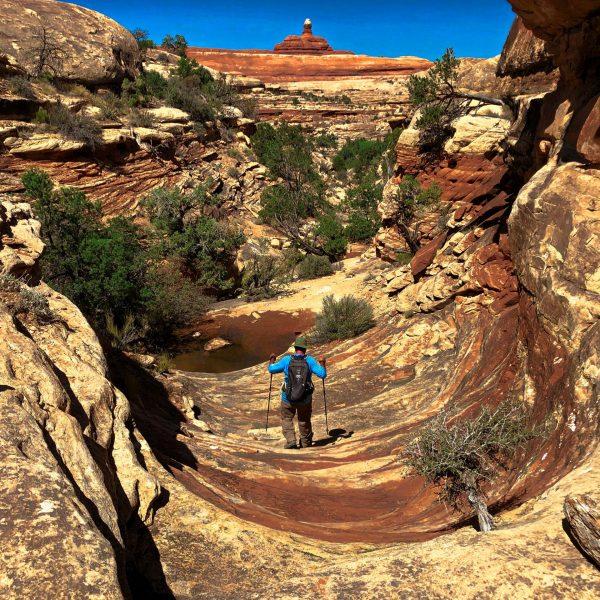Hiking the Lost Canyon Loop, Canyonlands National Park, Utah