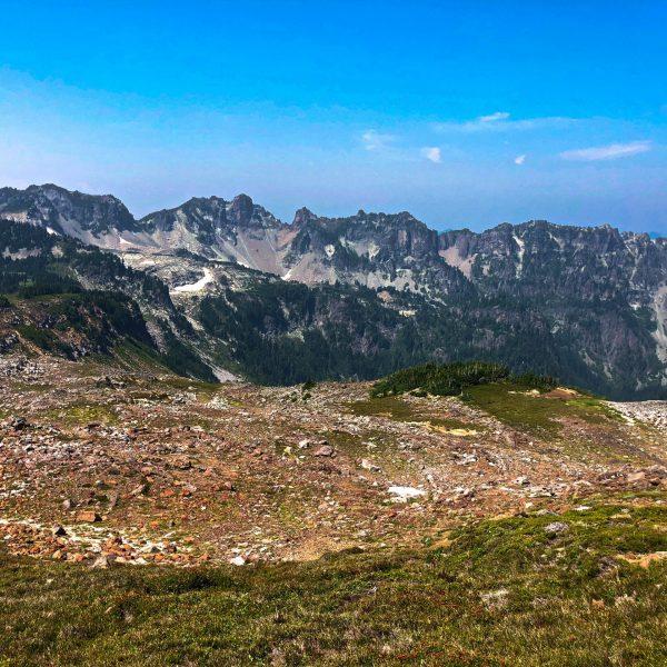 Mount Rainier Hike to Spray Park