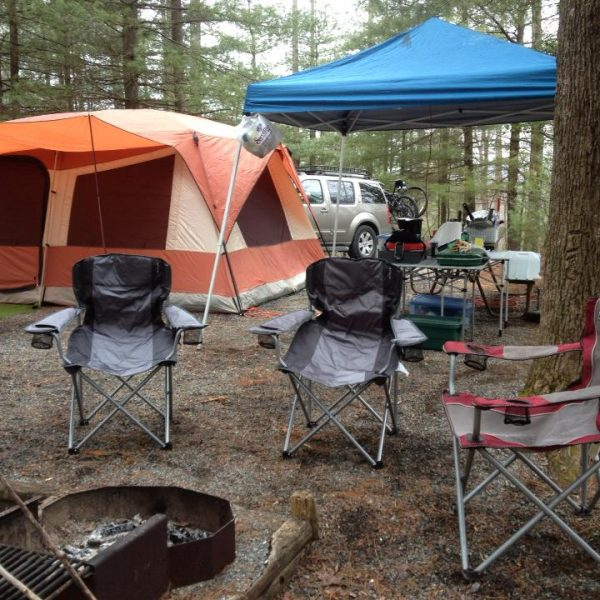 Car Camping in Private Campgrounds