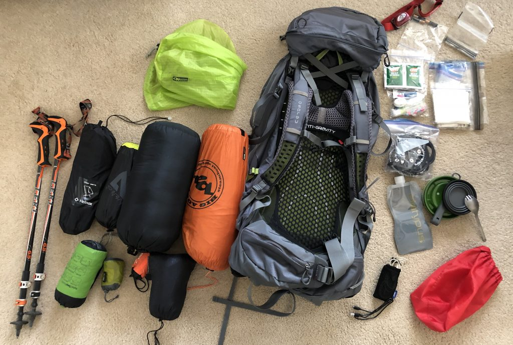 Backpacking Equipment