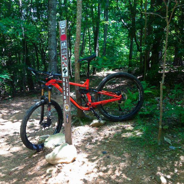Bent Creek mountain biking trails