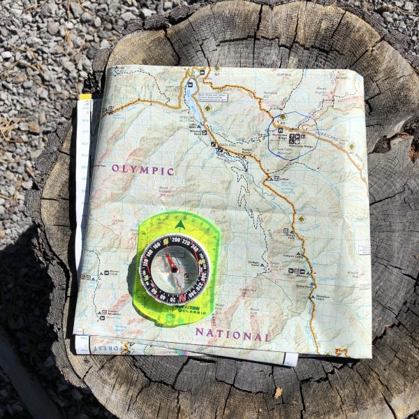 Navigation tools, first aid supplies, and emergency supplies.