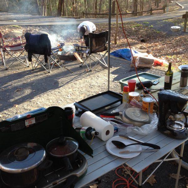 Car Camping - Cooking