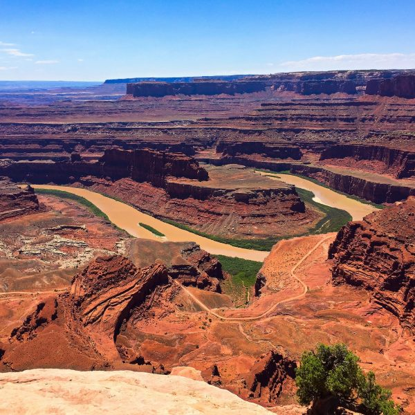 hiking Dead Horse Point State Park