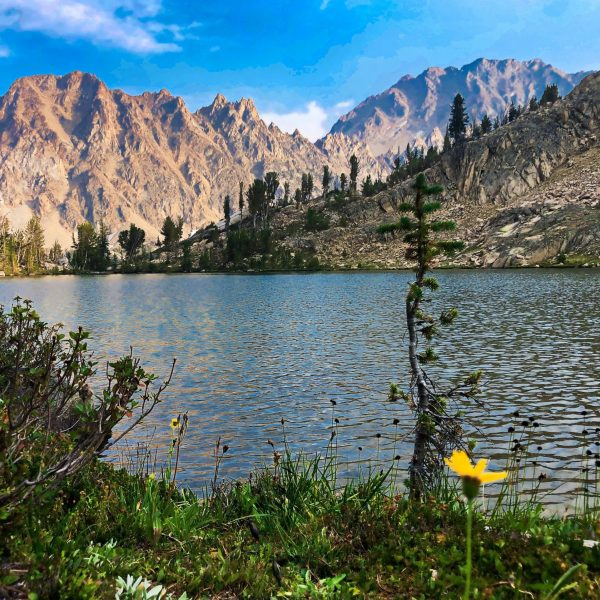 White Clouds Loop, Sawtooth National Forest, Idaho
