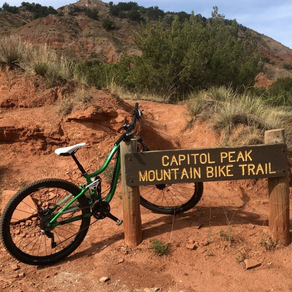 Palo Duro Canyon State Park Mountain Biking Trails