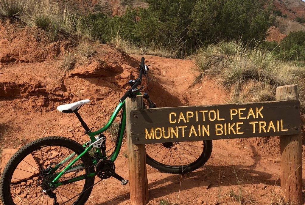 Palo Duro Canyon Mountain Biking Trails - Grey Otter ...