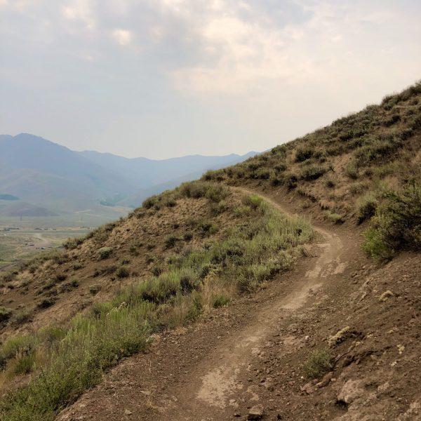 Croy Creek Mountain Biking Trails, Hailey, Idaho