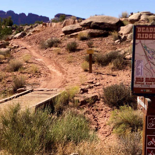 Moab Brand Mountain Biking Trails, Moab, Utah